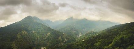 Paisagem nas montanhas dos rhodopes Foto de Stock