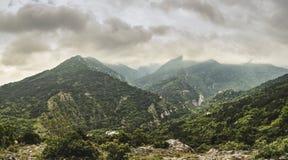 Paisagem nas montanhas dos rhodopes Fotos de Stock