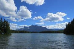 Paisagem natural de Banff Fotos de Stock Royalty Free