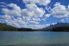 Paisagem natural de Banff Fotografia de Stock