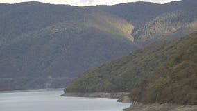 Paisagem natural Vista do lago no parque nacional em Geórgia vídeos de arquivo