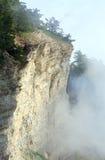 Paisagem nebulosa da montanha Imagens de Stock