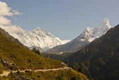 Paisagem Nepal de Himalaya Imagens de Stock Royalty Free