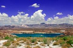 Paisagem Nevada do Mohave do lago foto de stock royalty free