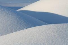 Paisagem nevado Fotografia de Stock