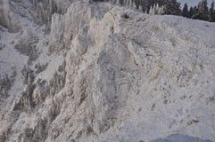 Paisagem nevado da montanha Imagem de Stock Royalty Free