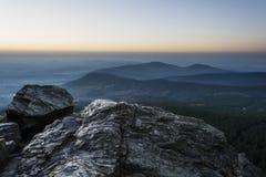 paisagem nevoenta Imagem de Stock Royalty Free