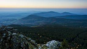 paisagem nevoenta Foto de Stock