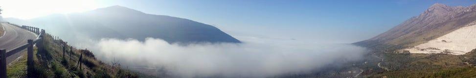 paisagem nevoenta Fotografia de Stock