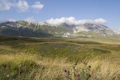 Paisagem no appennino de Abruzzo Fotografia de Stock Royalty Free