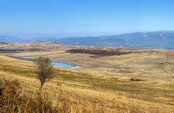 Paisagem no deserto Gareja, Geórgia Fotos de Stock Royalty Free