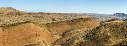 Paisagem no deserto Gareja, Geórgia Imagem de Stock