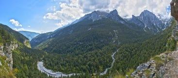 Paisagem no Dolomiti do grupo de Brenta Imagens de Stock Royalty Free