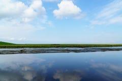 Paisagem no Mar do Norte Fotos de Stock