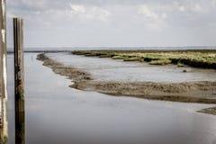Paisagem no Mar do Norte Fotos de Stock Royalty Free