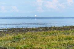 Paisagem no Mar do Norte Imagens de Stock