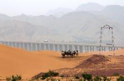 Paisagem no noroeste de China Imagem de Stock Royalty Free