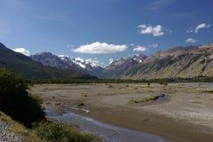 Paisagem no Patagonia Imagem de Stock
