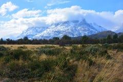 Paisagem no Patagonia o Chile Fotografia de Stock