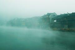 Paisagem no rio Imagem de Stock
