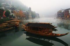 Paisagem no rio Fotos de Stock