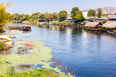 Paisagem no rio Kwai Foto de Stock Royalty Free