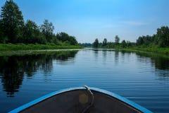 Paisagem no rio Narva Imagem de Stock Royalty Free