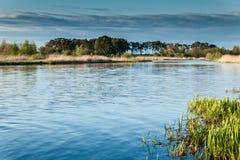 Paisagem no rio Nogat Fotos de Stock