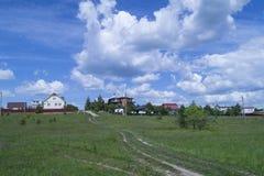 Paisagem no terreno rural Fotografia de Stock Royalty Free