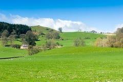 Paisagem norte do campo de Gales Fotografia de Stock