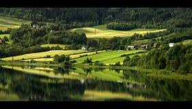 Paisagem norueguesa Imagem de Stock