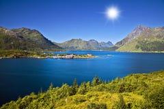 Paisagem norueguesa Foto de Stock