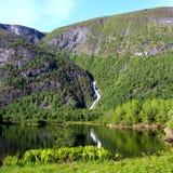 Paisagem norueguesa Fotos de Stock Royalty Free