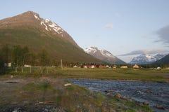 Paisagem norueguesa Foto de Stock Royalty Free