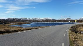 Paisagem norueguesa Fotografia de Stock Royalty Free