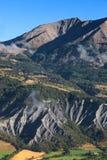 Paisagem nos alpes Fotografia de Stock Royalty Free