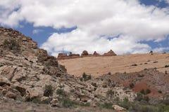 Paisagem nos arcos parque nacional, Utá, EUA Fotografia de Stock Royalty Free