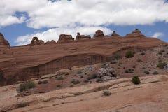 Paisagem nos arcos parque nacional, Utá, EUA Foto de Stock Royalty Free