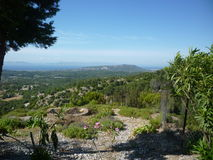 Paisagem o Rodes, Grécia, ilhas gregas Fotos de Stock Royalty Free