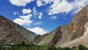 Paisagem Paquistão Fotografia de Stock Royalty Free