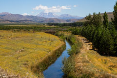 Paisagem Patagonian Foto de Stock Royalty Free