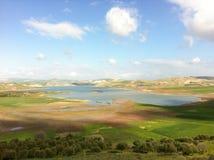 Paisagem perfeita da imagem em Marrocos Imagens de Stock