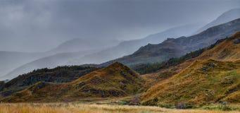 Paisagem perto do Loch Garry Foto de Stock Royalty Free