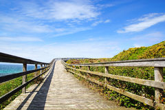 Paisagem pitoresca com ponte spain Foto de Stock Royalty Free