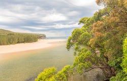 Paisagem real do parque nacional perto de Sydney, Novo Gales do Sul, Aus Foto de Stock Royalty Free