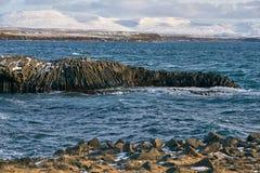 Paisagem rochosa do litoral Fotografia de Stock