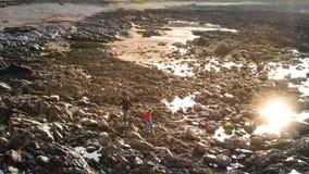 A paisagem rochosa na cabeça de Malin na costa atlântica da Irlanda foto de stock royalty free