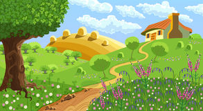 Paisagem rural Imagens de Stock Royalty Free