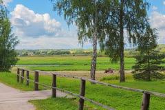 Paisagem rural Fotos de Stock