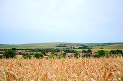 Paisagem rural checa Imagem de Stock